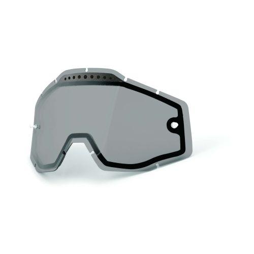 100% Dual-Pane Lens for Racecraft/Accuri/Strata Dual-Pane MX Goggle