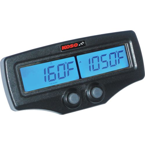 Koso Dual EGT/RPM/Water Temperature Gauge