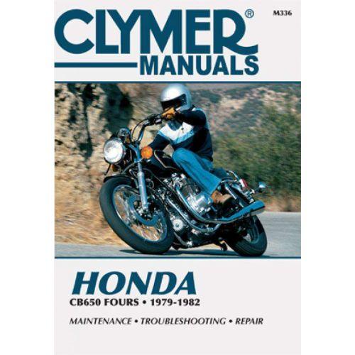 Clymer Repair Manual - Honda - CB650 Fours - M336