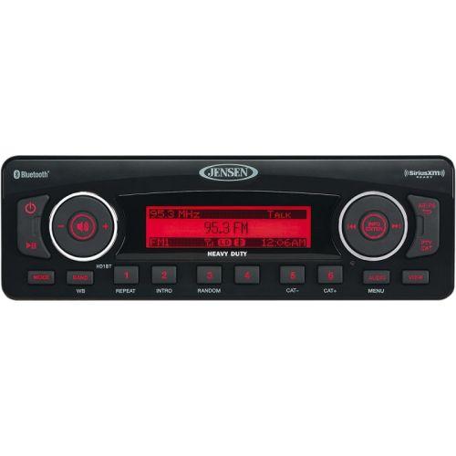 Jensen AM/FM/WB/USB/iPod & iPhone/SiriusXM Ready/Bluetooth Stereo - HD1BT