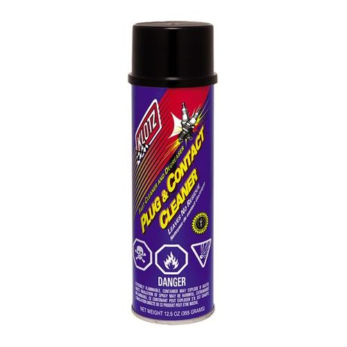 Klotz Plug and Contact Cleaner, 12.5oz