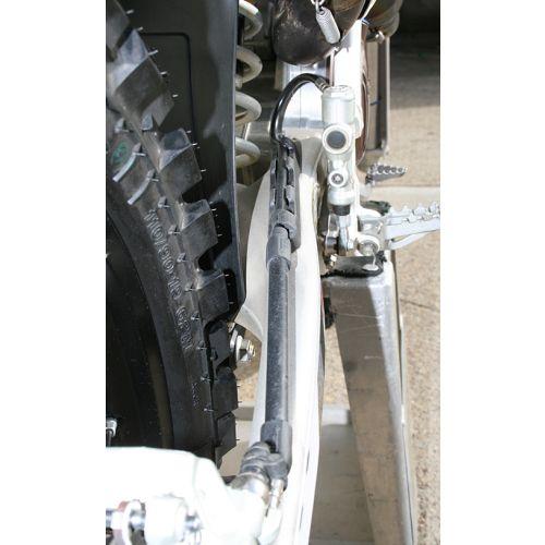 Ride Engineering Rear Braided Steel Brake Line