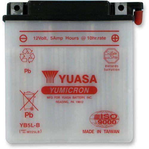 Yuasa Yumicron Battery for Honda/Suzuki/Yamaha -  YUAM225LB