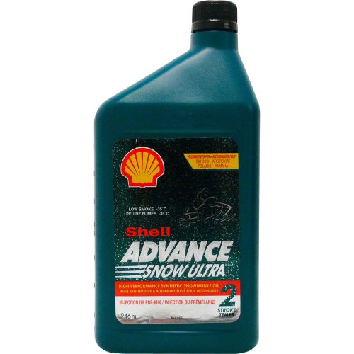 Shell Ultra Synthetic 2-Stroke Motoroil