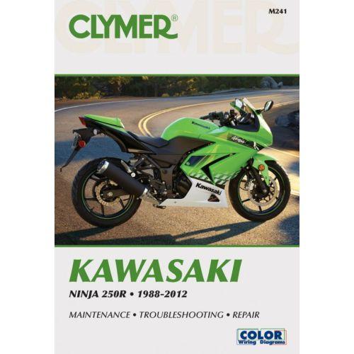 Clymer Repair Manual - Kawasaki - Ninja 250R - M241