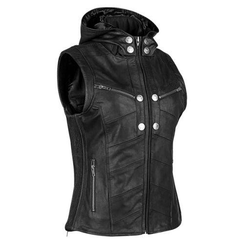 Speed & Strength Women's Hell's Belles Leather Vest