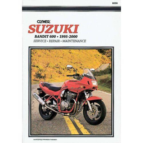 Clymer Repair Manual - Suzuki - Bandit 600 - M338