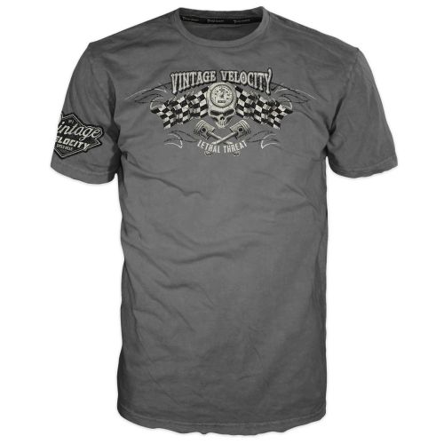 Lethal Threat Vintage Velocity Wicked Pistons Tee