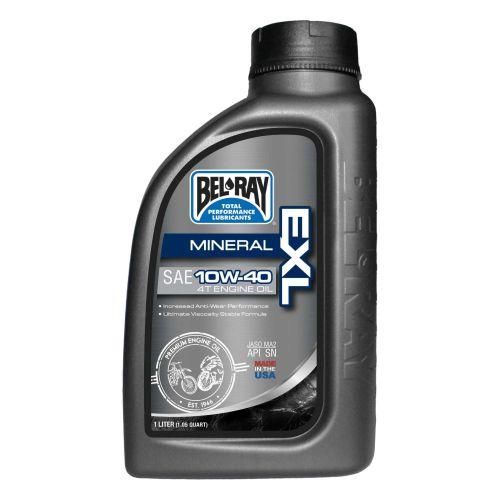 Bel-Ray EXL Mineral 4T Engine Oil 10W40 1L