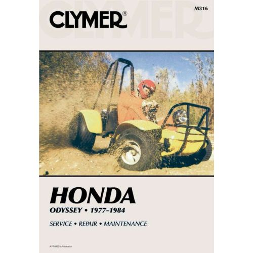 Clymer Repair Manual - Honda - Odyssey - M316