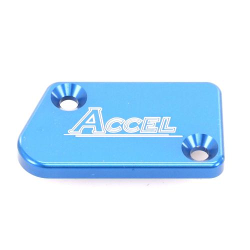Accel Front Master Cylinder Cover - FBC-04 Blue