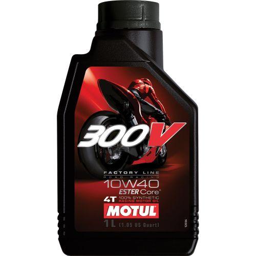 Motul 300V 4T Factory Line Synthetic Oil 10W40