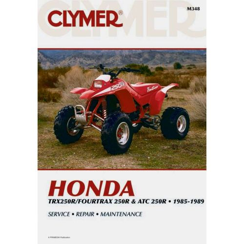 Clymer Repair Manual - Honda - TRX250R/Fourtrax 250R & ATC 250R - M348
