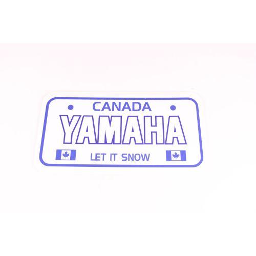 Royal Distributing License Plate Yamaha