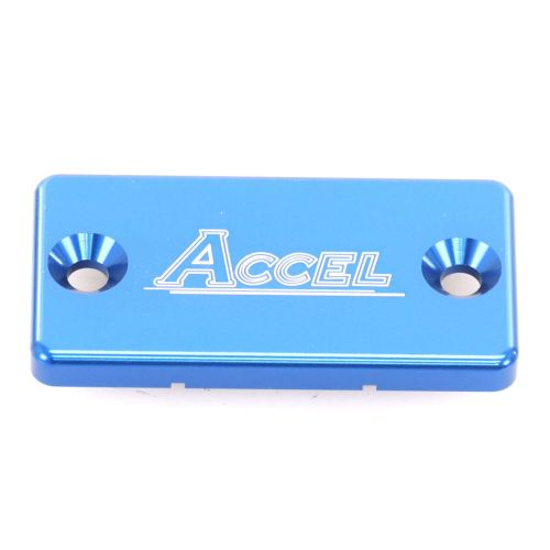Accel Front Master Cylinder Cover - FBC-02 Blue