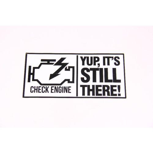 Royal Distributing Sticker Engine Light - 12-1155