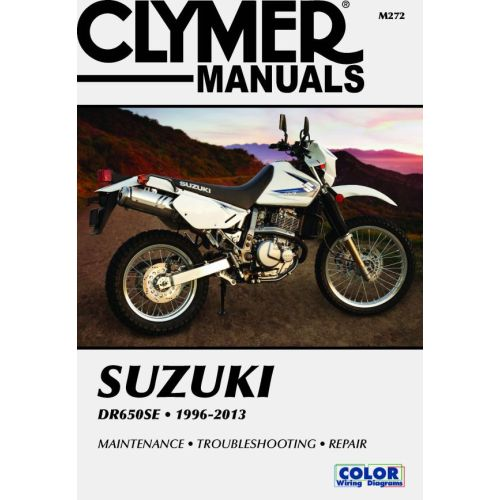 Clymer Repair Manual - Suzuki - DR650SE - M272