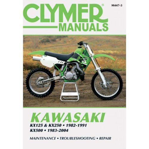 Clymer Repair Manual - Kawasaki - KX125 & KX250 & KX500 - M447-3