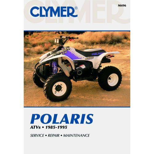 Clymer Repair Manual - Polaris 250cc-425cc 3/4/6 Wheels - 1985-1995