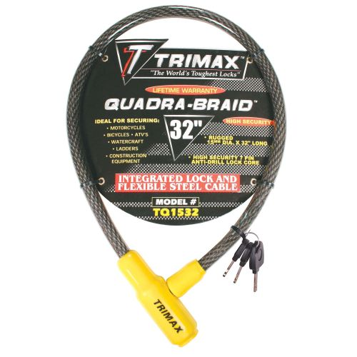 Trimax Integrated Keyed Cable Lock - TQ1532