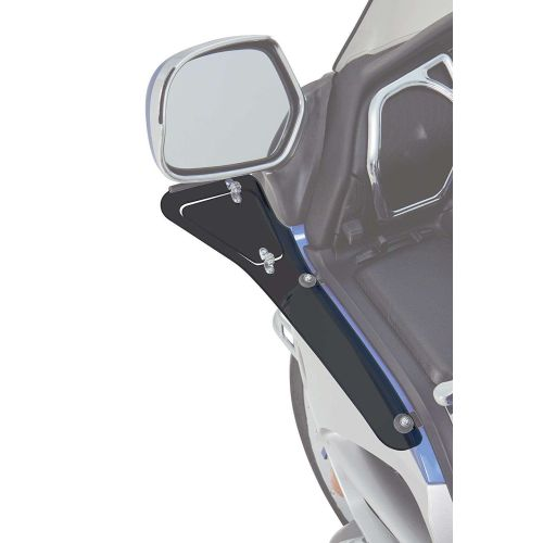 Big Bike Parts Smoke Upper Wind Deflector - 52-665U