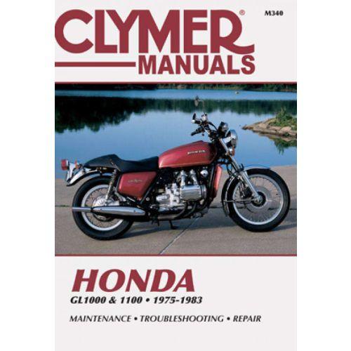 Clymer Repair Manual - Honda - GL1000 & 1100 - M340