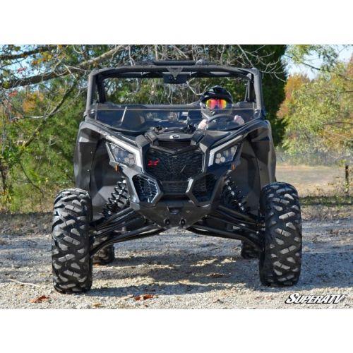 Super ATV Half Windshield for Can-Am Maverick X3 - HWS-CA-X3-70