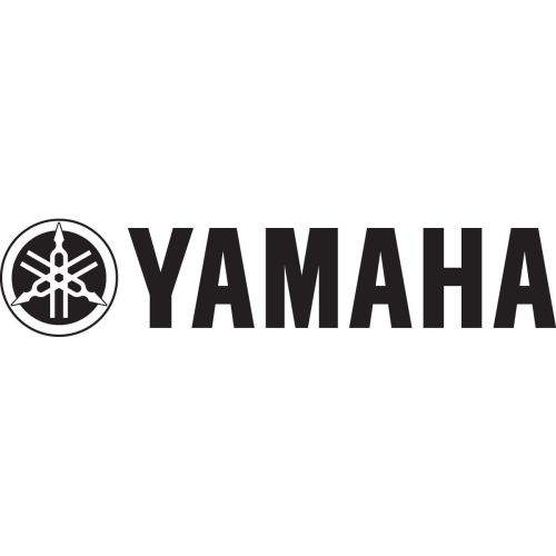 "Factory Effex Die-Cut  36x4"" Yamaha Sticker - 06-94232"