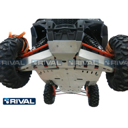 Rival Front CV Guards for RZR XP 900 - 24.7405.2-5