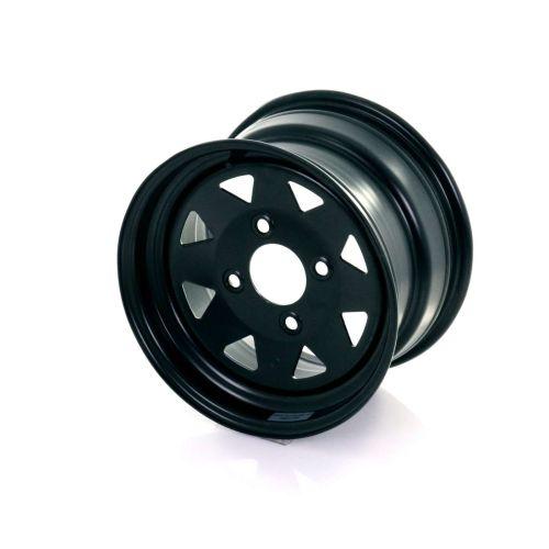 """Maxx Steel Rim 12"""" Black"""
