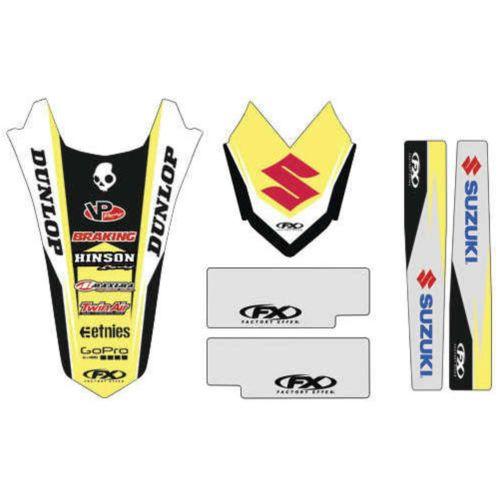Factory Effex Standard Trim Graphic Kit for Suzuki - 19-50420