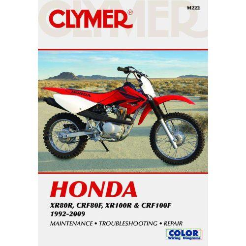 Clymer Repair Manual - Honda - XR80R & CRF80F & XR100R & CRF100F - M222
