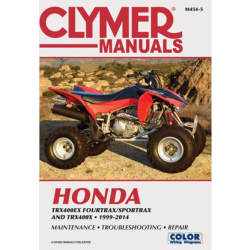 Clymer Repair Manual - Honda -TRX 400EX/ Fourtrax/Sportrax/TRX400X - M346-3