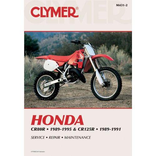 Clymer Repair Manual - Honda - CR80R - M431-2
