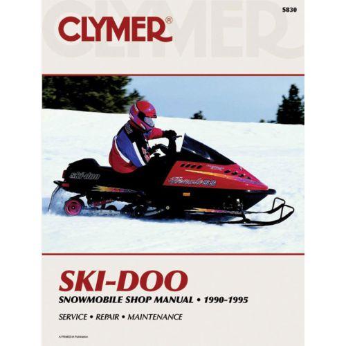 Clymer  Manual Skidoo - S830