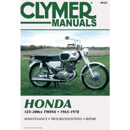 Clymer Repair Manual - Honda -125-200cc Twins - M321