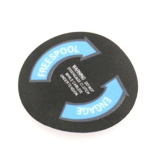 Pro Max Clutch Cover Sticker for Supermax Winch
