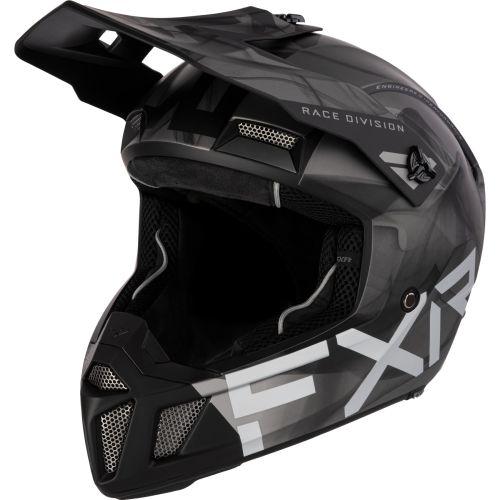 FXR Clutch Smoke Snow Helmet