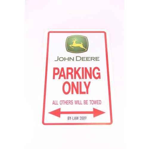 Royal Distributing Parking Sign John Deere