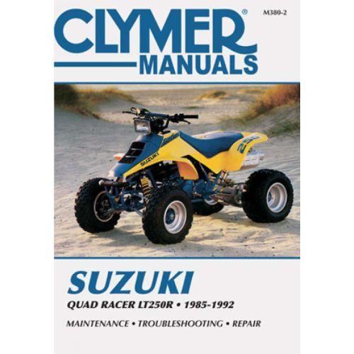 Clymer Repair Manual - Suzuki - Quad Racer LT250R - M380-2