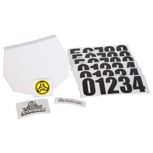 Strider Number Plate Kit