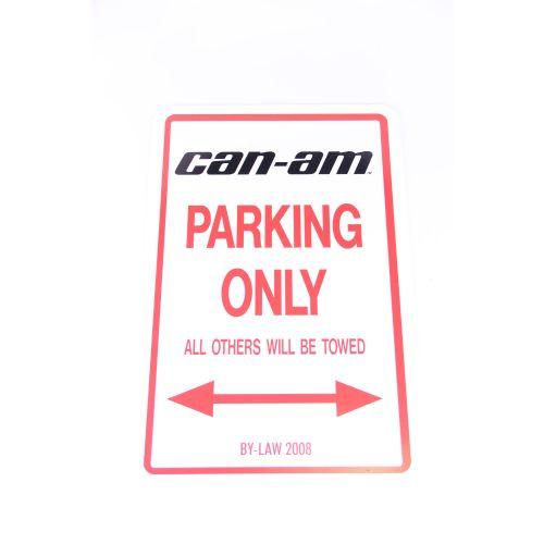 Royal Distributing Parking Sign Can-Am