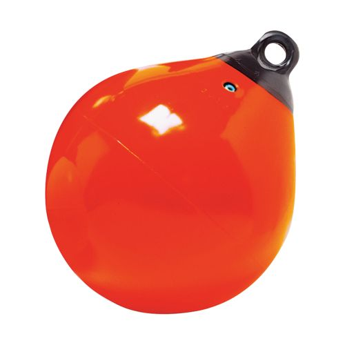 """Taylor Made Inflatable Vinyl Boat Buoy 9"""" (Orange or White)"""