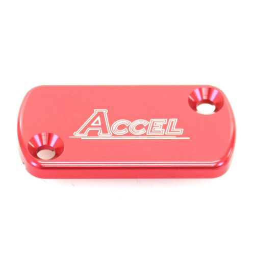 Accel Front Master Cylinder Cover - FBC-01 Red