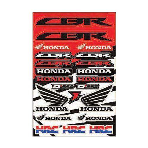 D'COR Visuals Decal Sheet for Honda - 40-10-102