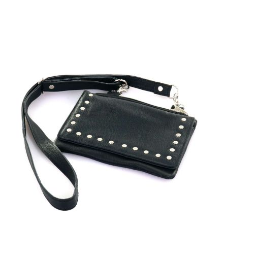 Highway 2 Leather Studded Purse