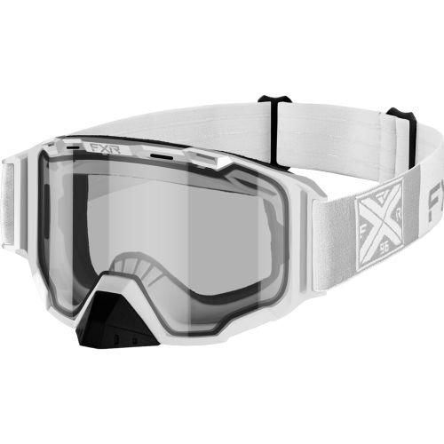 FXR Double Lens Maverick Clear Snow Goggle