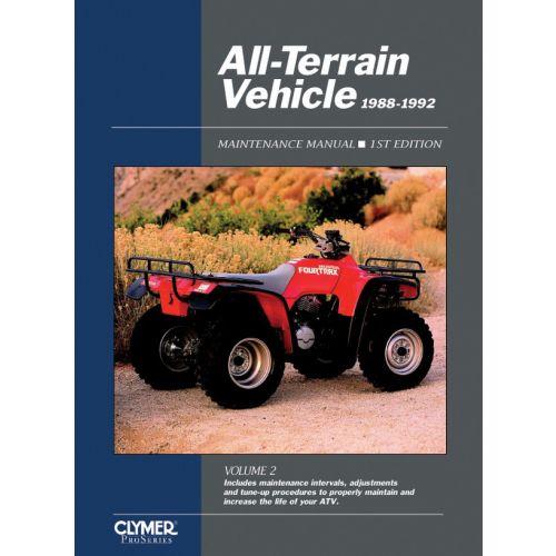 Clymer Repair Manual - All-Terrain Vehicle Vol. 2 - ATV21