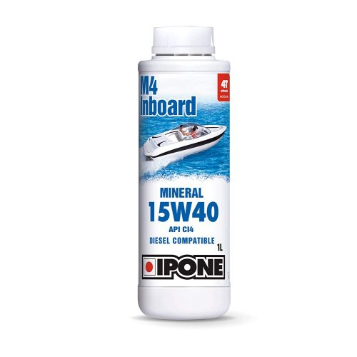 Ipone M4 Inboard Mineral Oil 15W40