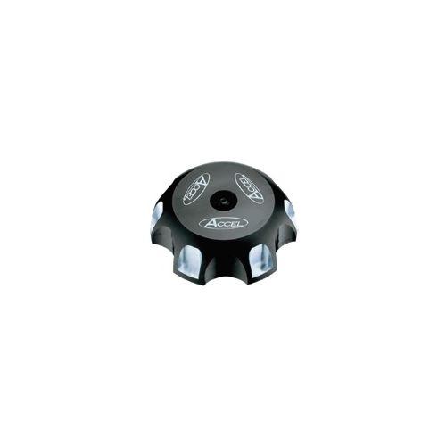 Accel Billet Gas Cap - GTC-01 Black